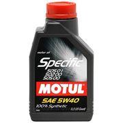 Motul Specific 505.01-502.00-505.00 5W-40 5л. фото