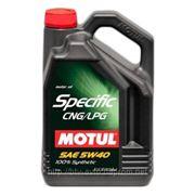 Motul Specific CNG/LPG 5W-40 5L фото