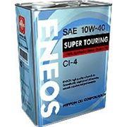 ENEOS SUPER TOURING API CI-4 10W40 100% Synthetic фото