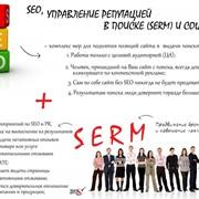 SEO, управление репутацией в поиске SERM фото