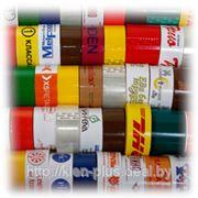 Клейкая лента (скотч) с логотипом фото