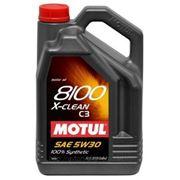 Моторное масло MOTUL 8100 X-clean 5w30 , 5 л. синтетика фото