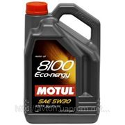 Моторное масло MOTUL 8100 Eco-nergy 5w30 , 5 л. синтетика фото