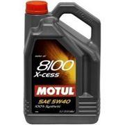 Моторное масло MOTUL 8100 X-cess 5w40 , 5 л. синтетика фото