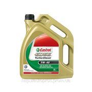 Моторное масло Castrol Edge Turbo Diesel 5W-40 5л фото