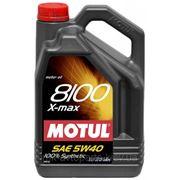 MOTUL 8100 X-max 0W40, 5L фото