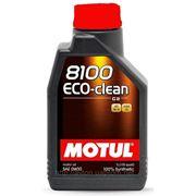 Моторное масло MOTUL 8100 ECO-Clean 0w30 , 1 л. синтетика фото