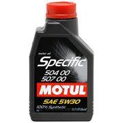 Моторное масло Motul Specific 504.00-507.00 5W-30 (1л.) фото