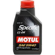 Моторное масло MOTUL SPECIFIC LL-04 5w40 , 1 л. синтетика фото