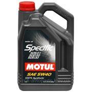 MOTUL SPECIFIC 505.01 502.00 505.00 5W40, 5L фото