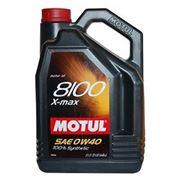 Моторное масло MOTUL 8100 X-max 0w40 , 5 л. синтетика фото