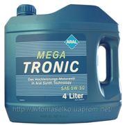 ARAL 5w-50 Mega Tronic 4л Синтетическое моторно масло Арал Мега Троник 4l Киев фото