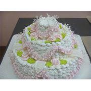 Изготовление тортов на заказ. ТМ «Маршалок» предлагает изготовление кондитерских изделий на заказ. Каждое такое изделие станет аппетитным украшением любого праздника: свадьбы юбилея дня рождения корпоратива фото