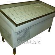 Прилавок холодильный для рыбы среднетемпературный ПХС-1,55/1,1 фото