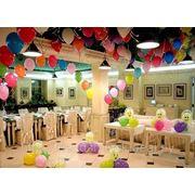 Оформление воздушными шарами, гелиевые шары фото