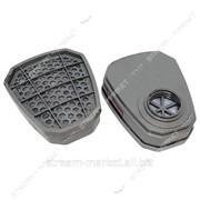 Фильтр-Банка DR-0022 трапеция (для респиратора 3-М с двумя фильтрами) (цена за 1шт, только от уп.) №718236 фото
