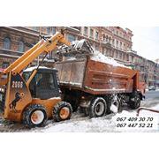 Убрать снег в Киеве. Вывоз снега. Уборка снега Киев цена недорого. фото