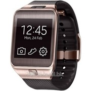 Часы Samsung SM-R380 Galaxy Gear2, (коричневый) Brown фото