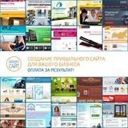 Создание сайтов, Оплата за результат, Наши сайты принесли клиентам 254 963$ фото