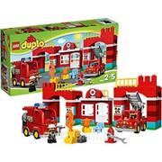 10593 Лего Дупло Пожарная станция фото