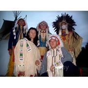 Шоу индейцев в Минске. Индейские танцы, горловое пение, ритуалы. Конкурсы и игры для корпоратива. фото