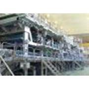 Машины бумагоделательные для производства плоских слоев гофрокартона (тестлайнер) и основы для гофрирования (флютинг) фото