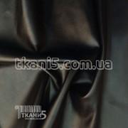 Ткань Кожзам на замшевой основе (черный) 1102 фото