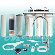 Фильтр под мойку четырёхступенчатый c UV установкой FP-3-UV. фото
