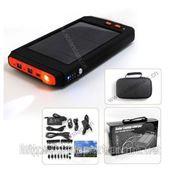 Портативная солнечная зарядная батарея с большой емкостью 16000 мА/ч для ноутбука/ мобильного телефо фото