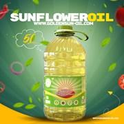 Sunflower Oil GoldenSun 5L  Подсолнечное масло фото