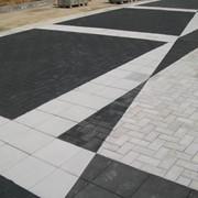 Модульное тротуарное покрытие фото