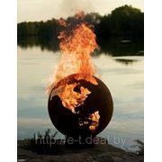 Оформление огнем