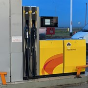 Установка топливораздаточных колонок на АЗС фото