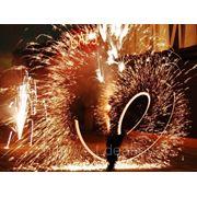 Пиротехническое шоу, фонтаны искр, огненное шоу в Минске фото