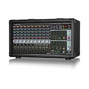 Behringer PMP2000D - микшер-усилит, 2x500 Вт на 8 Ом (2 x 1000 Вт на 4 Ом),14 каналов фото