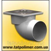 Трап канализационный с сухим затвором и нержавеющей решеткой ТП-105.110-150 HSDs фото