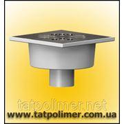 Трап канализационный с гидрозатвором и нержавеющей решеткой ТП-102.50-150 VSHs фото