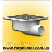 Трап канализационный с сухим затвором и нержавеющей решеткой ТП-103.50-150 HSDs фото
