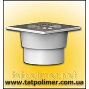 Трап канализационный с сухим затвором и нержавеющей решеткой ТП-104.110-150VSDs фото