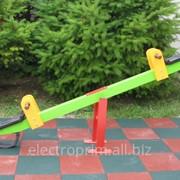 Качели модель В01. Качеля -балансир, колыбель. фото