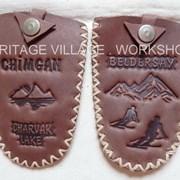 Футляры для ключей из натуральной кожи . фото