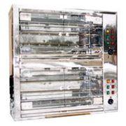 Переоборудование газового гриля для кур в электрический гриль фото