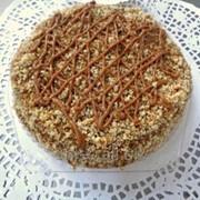 Торт с молочно-фруктовой начинкой Медок 700 г фото