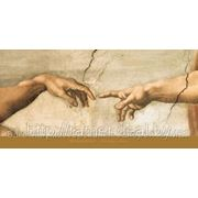 Репродукция, артпостер Creazione di Adamo (part. ) Сотворение Адама (фрагмент) фото