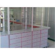 Изготовление торговых витрин прилавков стеллажей под заказ фото