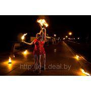 Огненное шоу под заказ в Минске. Выезд в любой город Беларуси и СНГ фото