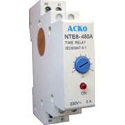 Реле времени АсКО NTE 8-480В задержка включения 300-480с фото