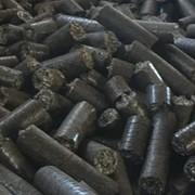 Пеллеты из лузги подсолнечника на Экспорт фото
