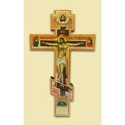 Распятие рукописное Господа нашего прямое (285*185) Арт. И4382 фото