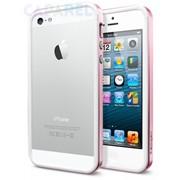 Бампер SGP Case Neo Hybrid EX Slim Metal Series Metal Pink для iPhone 5 фото